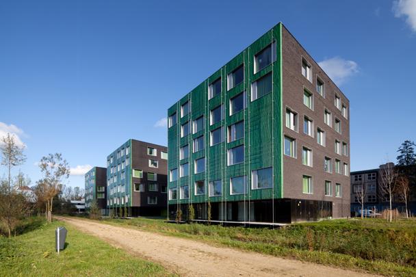 Studentenhuisvesting TU Delft (Mecanoo) / Student Accomodation TU Delft (Mecanoo) ( Mecanoo )