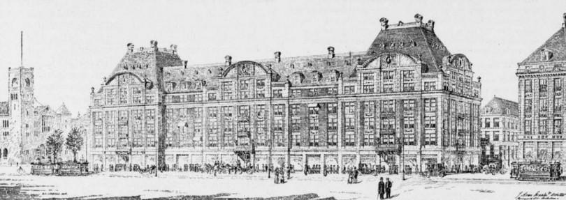 Warenhuis De Bijenkorf Amsterdam / Department Store De Bijenkorf Amsterdam ( J.A. van Straaten jr. )