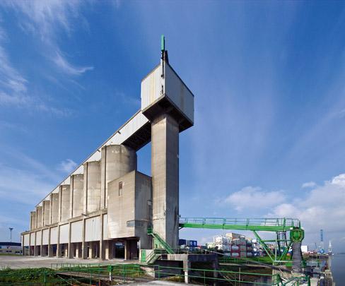 Cementsilo NCHM / Silo Building NCHM ( A. Bodon (DSBV) )