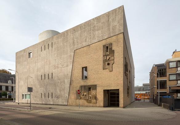Kantongerecht Tilburg / Courthouse Tilburg ( J.H.A. Bedaux )