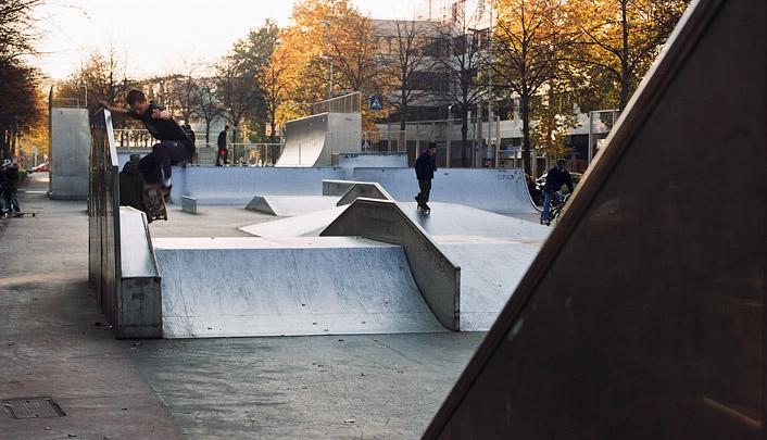 Skatepark Westblaak / Skate Park Westblaak ( D. van Peijpe (dS+V) i.s.m. J.P.C. Glissenaar, G.J. Hoorn )