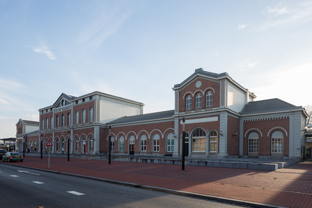 Station Dordrecht / Station Dordrecht ( N.J. Kamperdijk of K.H. van Brederode of N.T. Michaëlis )