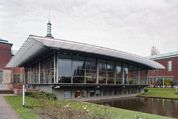 Museum Boijmans Van Beuningen Tuinpaviljoen  / Museum Boijmans Van Beuningen Garden Pavilion  ( H.A.J. Henket )