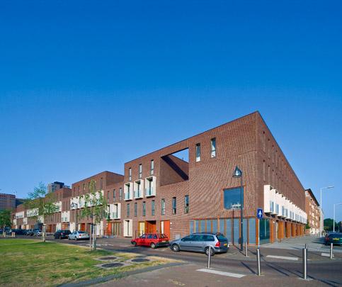 Woningbouw Vlinderbuurt / Housing ( G.J. Hendriks (de Architectengroep/Hendriks Schulten) )