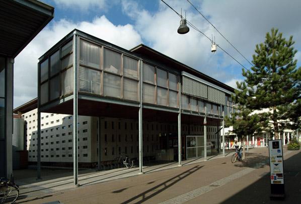 Bibliotheek Zeewolde / Library Zeewolde ( K.J. van Velsen )