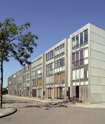 Woningbouw Bezaanjachtplein / Housing Bezaanjachtplein ( Bosch Haslett Kruunenberg )
