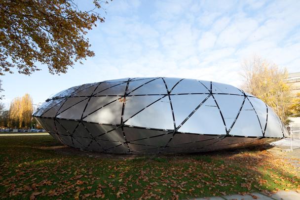 Paviljoen Floriade (iWEB paviljoen) / Pavilion Floriade (iWEB Pavillion) ( K.J. Oosterhuis (ONL) )