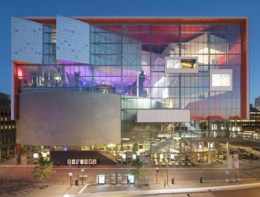 Muziekcentrum Vredenburg / Music Centre Vredenburg ( H. Hertzberger )