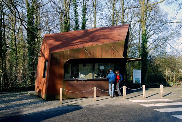 Portiersloges Nationaal Park de Hoge Veluwe / Porter's Lodges Nationaal Park de Hoge Veluwe ( MVRDV )