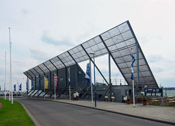 Tentoonstellingspaviljoen Hoek van Holland / Exhibition Pavilion Hoek van Holland ( cepezed )