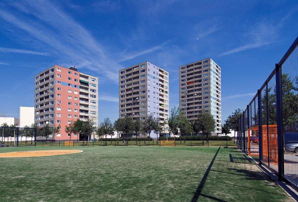 Woontorens Delfshaven Buitendijks / Residential Towers Delfshaven Buitendijks ( Mecanoo )