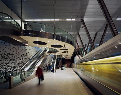 Metrostation Wilhelminahof / Metro Station Wilhelminahof ( Zwarts & Jansma )