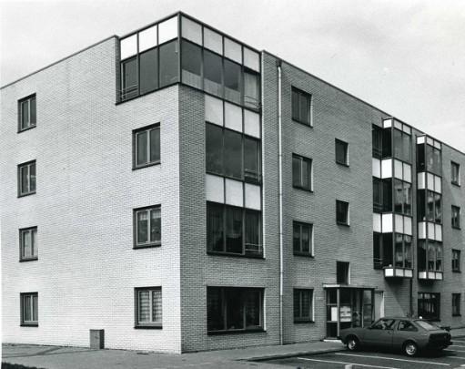 Woningbouw DWL-terrein / Housing DWL-terrein ( W. Patijn, J. Mulder (Dienst Volkshuisvesting) )