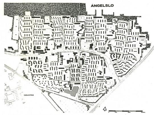 Stedenbouwkundig plan Angelslo / Urban Design Angelslo ( N.A. de Boer, A.J.M. de Jong )