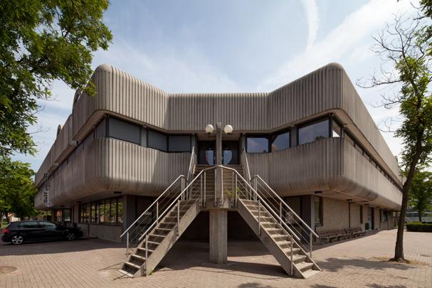 Multifunctioneel gebouw M (Dining Hall University College) / Multifunctional Building M (Dining Hall University College) ( Dienst gebouwen, werken en terreinen Defensie, Direktie Utrecht )