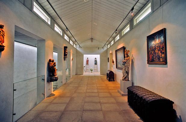 Expositiegebouw voor Gotische Kunst (Marianum) / Private Art Gallery (Marianum) ( HP Architecten )