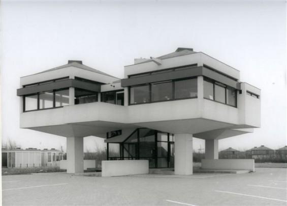 Recreatieterrein en Motel Stellendam / Motel Stellendam ( W. Brinkman )