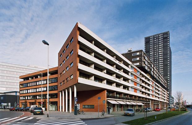 Woongebouw Zalmhaven / Housing Block Zalmhaven ( Dobbelaar De Kovel De Vroom (DKV) )