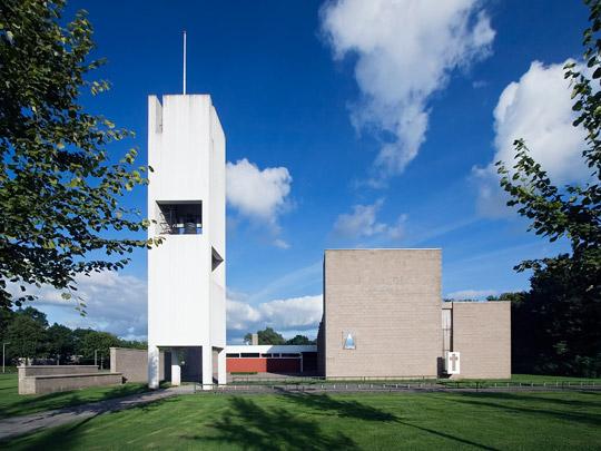 Gereformeerde kerk Nagele  / Reformed Church Nagele  ( Van den Broek & Bakema )