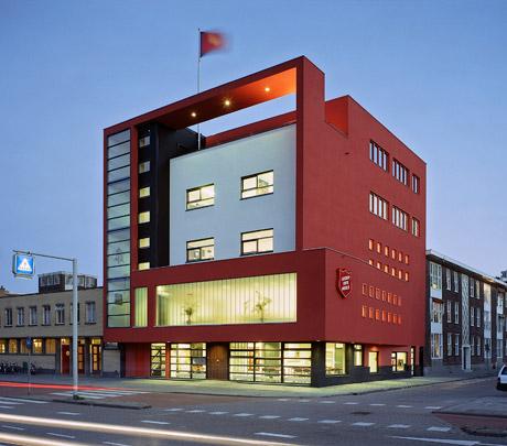 Leger des Heils Rotterdam / Salvation Army Building Rotterdam ( Van Duivenbode & De Jong )