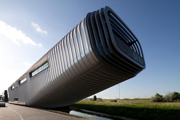 Bedrijfsgebouw Wilo / Industrial Building Wilo ( Benthem Crouwel )