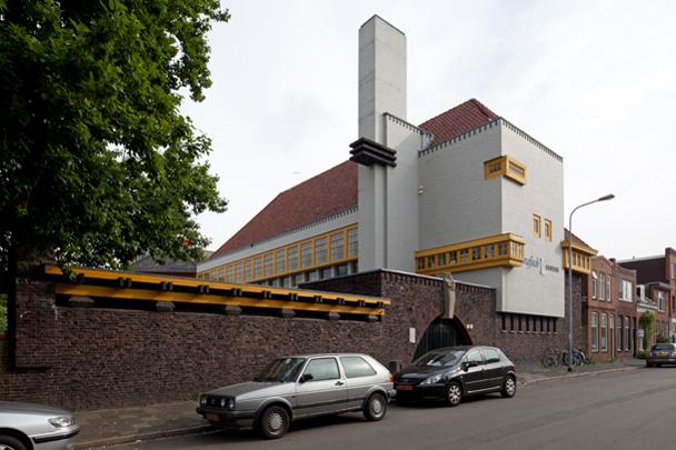 Rabenhauptschool (Grafisch Museum) / Rabenhauptschool ( S.J. Bouma )