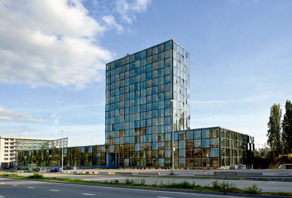 Woongebouw Het Kasteel / Housing Block Het Kasteel ( HVDN Architecten ) 