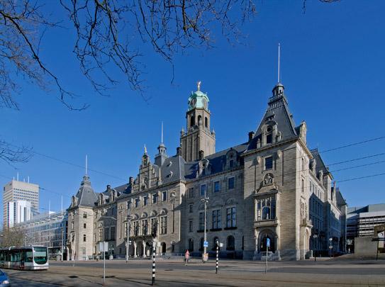 Stadhuis Rotterdam / Town Hall Rotterdam ( H.J. Evers )