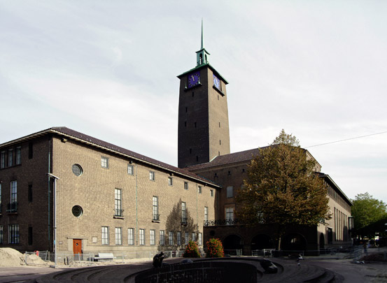 Raadhuis Enschede / Town Hall Enschede ( G. Friedhoff )