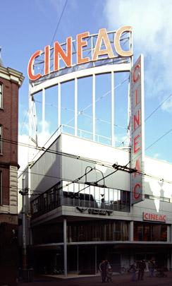 Bioscoop Cineac Handelsblad / Cinema Cineac Handelsblad ( J. Duiker )