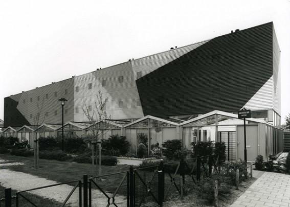 Woningbouw De Kassen / Housing De Kassen ( K. Oosterhuis )