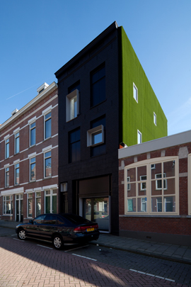 Kluswoning De Zwarte Parel / DIY House De Zwarte Parel ( Rolf.fr & Zecc architecten )