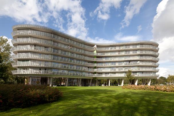 Woongebouw De Condor / Housing Block De Condor ( Atelier Zeinstra Van der Pol )