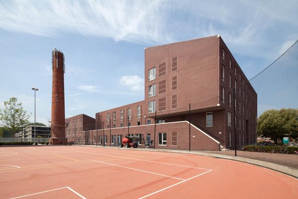 Studentenhuisvesting University College Utrecht (Bruun, Cuwaart en Belijn) / Student Accomodation University College Utrecht (Bruun, Cuwaart and Belijn) ( A. Zaaijer )