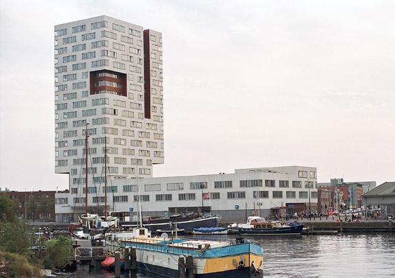 Woongebouw IJ-toren / Housing Block IJ-toren ( Neutelings Riedijk )