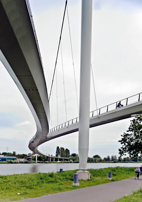 Nesciobrug / Nescio Bridge ( Wilkinson Eyre architects )