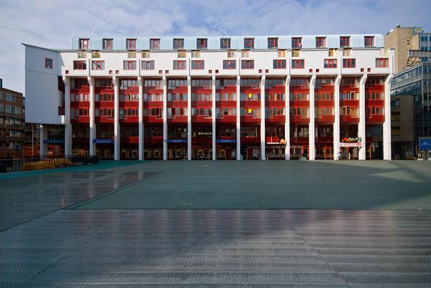 Woongebouw Woondok / Housing Block Housing Dock ( E. Hartsuyker, L. Hartsuyker-Curjel )