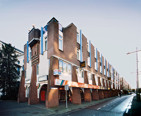 Woningbouw De Boogjes / Housing De Boogjes ( P.P. Hammel )
