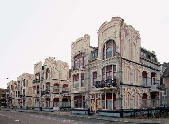 Loodsenwoningen Vlissingen / Pilot's Houses Vlissingen ( P.F. Smagge )