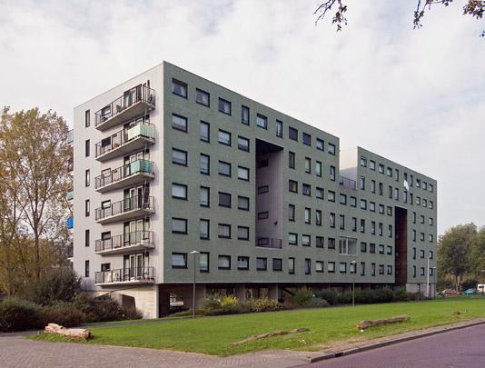 Woongebouw Kavel 25 / Housing Block Kavel 25 ( A. Zaaijer & K.W. Christiaanse )
