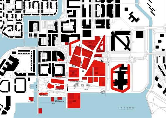 Masterplan Almere-Centrum / Masterplan Almere-Centrum ( OMA )