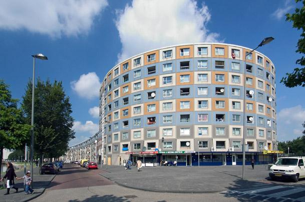 Woongebouw De Peperklip / Housing Block De Peperklip ( C.J.M. Weeber (HWST) )