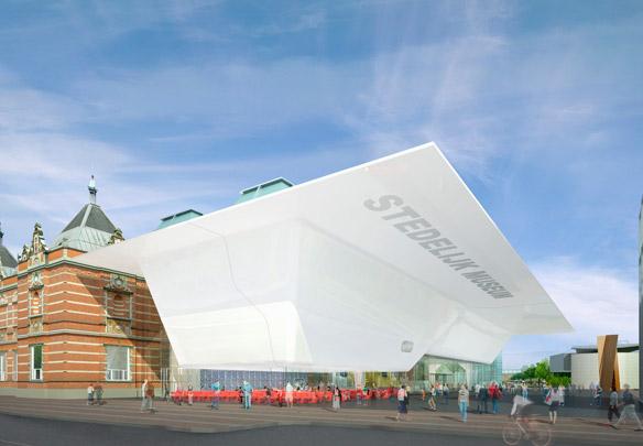 Stedelijk Museum Amsterdam (Uitbreiding) / Extension to Stedelijk Museum Amsterdam  ( Benthem Crouwel )
