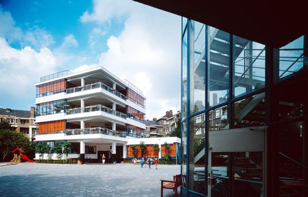 Eerste Openluchtschool voor het Gezonde Kind / Open Air School ( J. Duiker, B. Bijvoet )