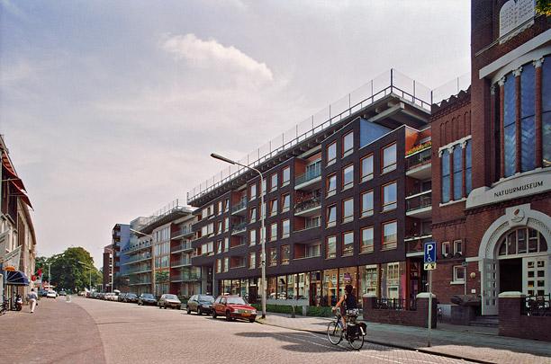 Woongebouw Nijmegen / Housing Block Nijmegen ( D.E. van Gameren, B. Mastenbroek (de Architectengroep) )